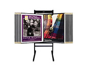 Classic Multi Panel Poster Stand & Art Displays