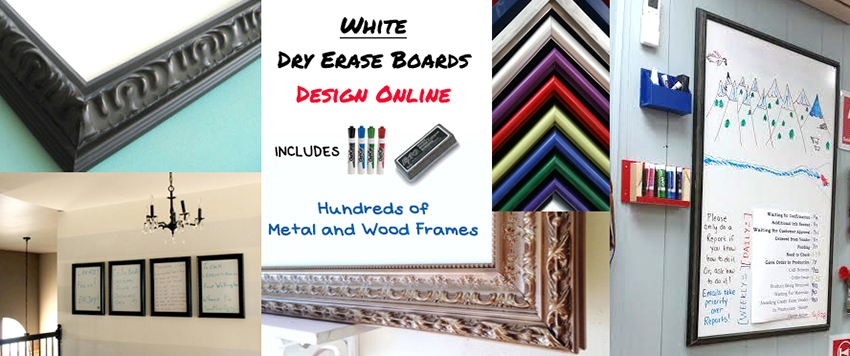 Magnetic White Dry Erase Board