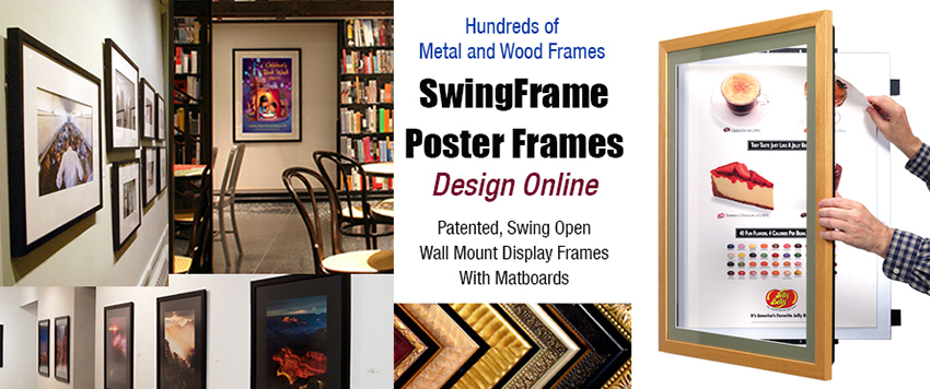 Custom Poster SwingFrame with Matboard