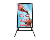 Outdoor Curb Sign Stand