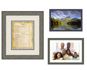 Custom Picture, Graphic and Poster Frames