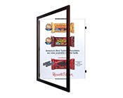 Large Format Wood 362 Poster Swingframe
