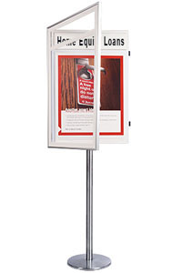 Classic Poster SwingStand with Header