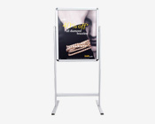 Dual Sided Snap Frame Floor Sign Holder