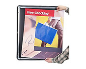 Security Front Loading Poster Snap Frame with Mitered Corners