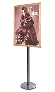 Wood 361 Poster SwingStand Floor Sign Holder