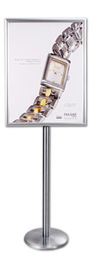 Wide-Face Poster Display SwingStand