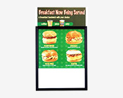 Euro Style Quick Changing Top/Side Loader Poster Displays