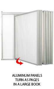 Aluminum Wall Displayer